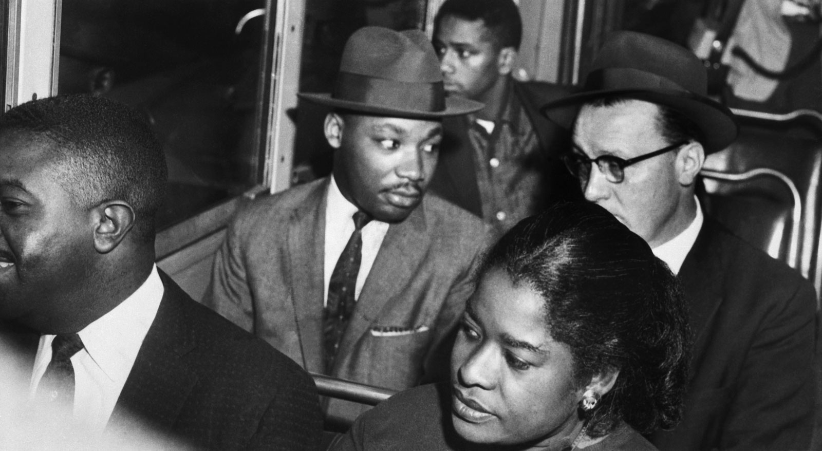 Martin Luther King and the Montgomery bus boycott for